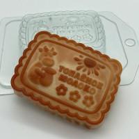 Пластиковая форма Печенье Топленое молоко 1 шт - Все для мыла ручной работы - интернет-магазин Blesk-ekb.ru, Екатеринбург