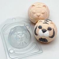 СФЕРА D70 Тигр с позиционированием (2 формы) - Все для мыла ручной работы - интернет-магазин Blesk-ekb.ru, Екатеринбург