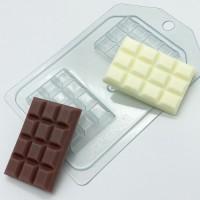 Пластиковая форма Плитка шоколада 1 шт    - Все для мыла ручной работы - интернет-магазин Blesk-ekb.ru, Екатеринбург