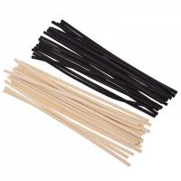 Ротанговые палочки (черный) 18,5 см 10 шт - Все для мыла ручной работы - интернет-магазин Blesk-ekb.ru, Екатеринбург