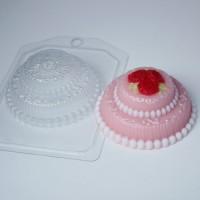 Пластиковая форма Торт розы 1 шт - Все для мыла ручной работы - интернет-магазин Blesk-ekb.ru, Екатеринбург