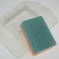 Пластиковая форма Прямоугольник мини 1 шт - Все для мыла ручной работы - интернет-магазин Blesk-ekb.ru, Екатеринбург