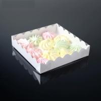 Коробочка белая, 15 х 15 х 3 см 1 шт 1 шт - Все для мыла ручной работы - интернет-магазин Blesk-ekb.ru, Екатеринбург