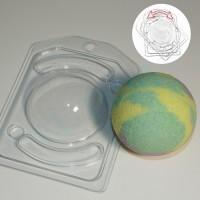 СФЕРА D70 с позиционированием (2 формы) - Все для мыла ручной работы - интернет-магазин Blesk-ekb.ru, Екатеринбург