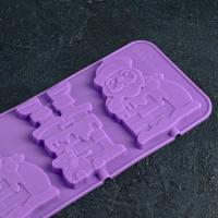 Силиконовые формы Новогодние №3 2 шт - Все для мыла ручной работы - интернет-магазин Blesk-ekb.ru, Екатеринбург