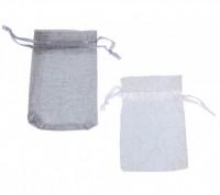 Мешочек из органзы Легкость 9*7 1 шт     - Все для мыла ручной работы - интернет-магазин Blesk-ekb.ru, Екатеринбург