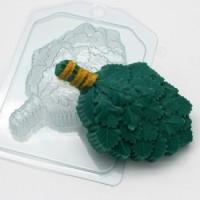 Пластиковая форма Веник дубовый 1 шт - Все для мыла ручной работы - интернет-магазин Blesk-ekb.ru, Екатеринбург