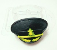 Пластиковая форма Фуражка 1 шт - Все для мыла ручной работы - интернет-магазин Blesk-ekb.ru, Екатеринбург