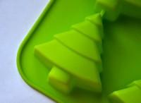 силиконовая форма Елочка мини 6,5*6,5*2,5 1 шт - Все для мыла ручной работы - интернет-магазин Blesk-ekb.ru, Екатеринбург