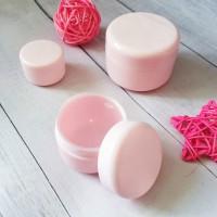 Баночка косметическая 50 мл, розовая 1 шт - Все для мыла ручной работы - интернет-магазин Blesk-ekb.ru, Екатеринбург