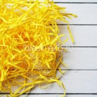 Наполнитель бумажный желтый, 50 гр  - Все для мыла ручной работы - интернет-магазин Blesk-ekb.ru, Екатеринбург