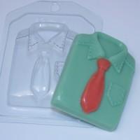 Форма пластиковая Рубашка 1 шт - Все для мыла ручной работы - интернет-магазин Blesk-ekb.ru, Екатеринбург
