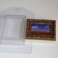 Пластиковая форма Рамка прямоугольник 1 шт - Все для мыла ручной работы - интернет-магазин Blesk-ekb.ru, Екатеринбург