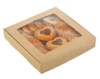 Коробка крафт 16*16*3 1 шт - Все для мыла ручной работы - интернет-магазин Blesk-ekb.ru, Екатеринбург