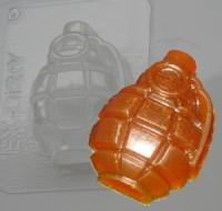 Пластиковая форма Граната 1 шт - Все для мыла ручной работы - интернет-магазин Blesk-ekb.ru, Екатеринбург