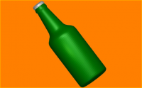 Пластиковая форма Бутылка пива 1 шт - Все для мыла ручной работы - интернет-магазин Blesk-ekb.ru, Екатеринбург