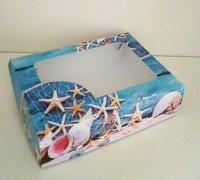 Коробка для мыла Морская 15*11*4 - Все для мыла ручной работы - интернет-магазин Blesk-ekb.ru, Екатеринбург