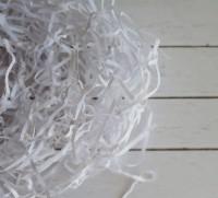 Наполнитель бумажный белый, 50 гр - Все для мыла ручной работы - интернет-магазин Blesk-ekb.ru, Екатеринбург